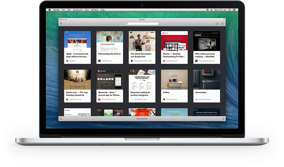 Stache - A smarter way to bookmark web pages for Mac, iPhone